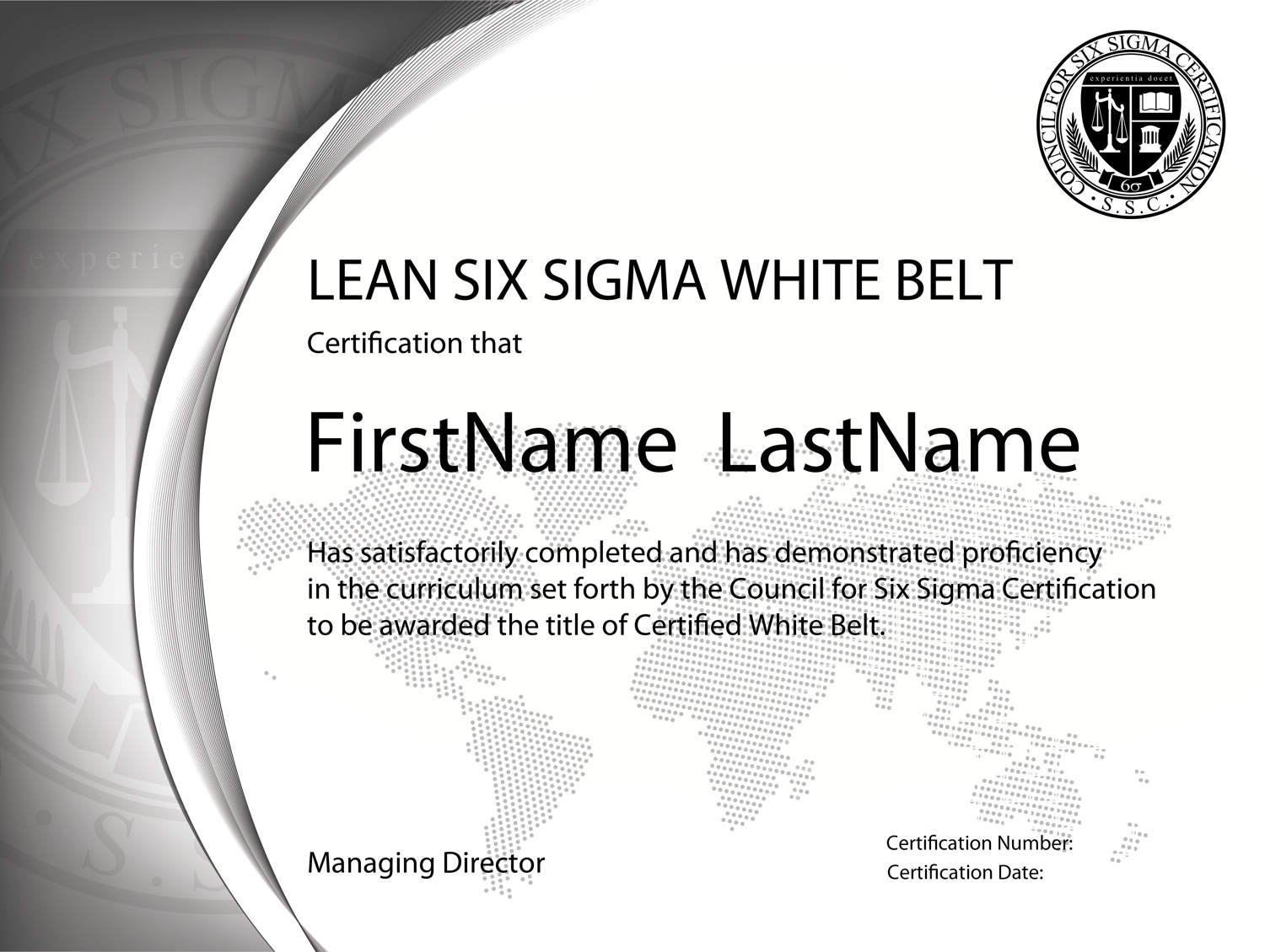 Lwb Sample Six Sigma Online Certification Lean Six Sigma Training