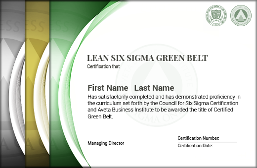 Lean Six Sigma Green Belt Certification - Six Sigma Online