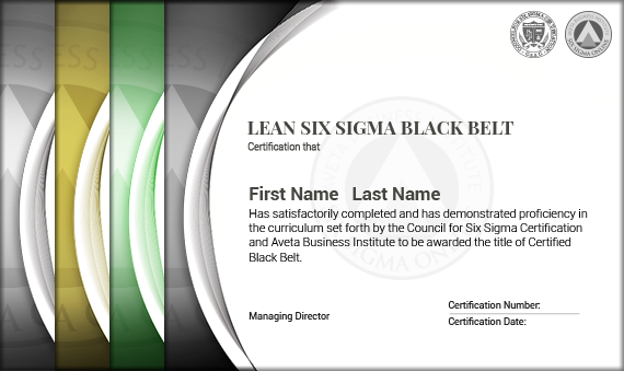 Lean Six Sigma Black Belt Certification - Six Sigma Online ...