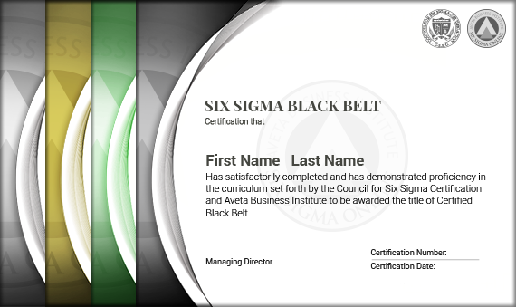 Six Sigma Black Belt Certification - Six Sigma Online