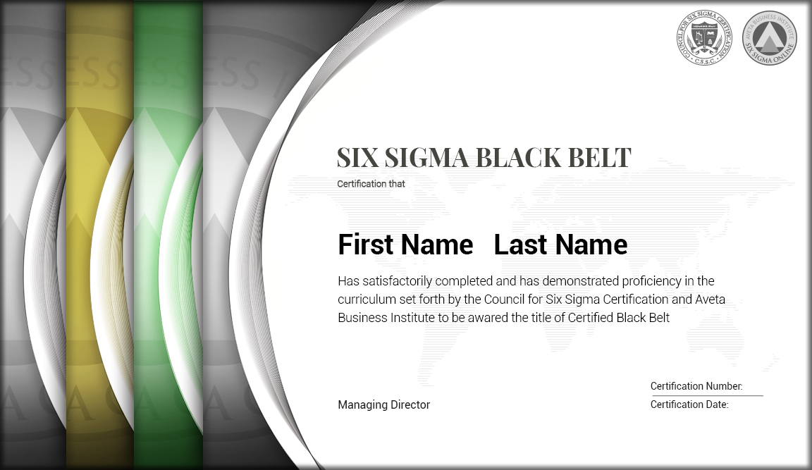 Council For Six Sigma Certification Choice Image Creative